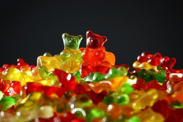 gumoví medvíci