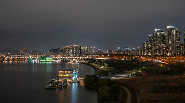 řeka ve městě