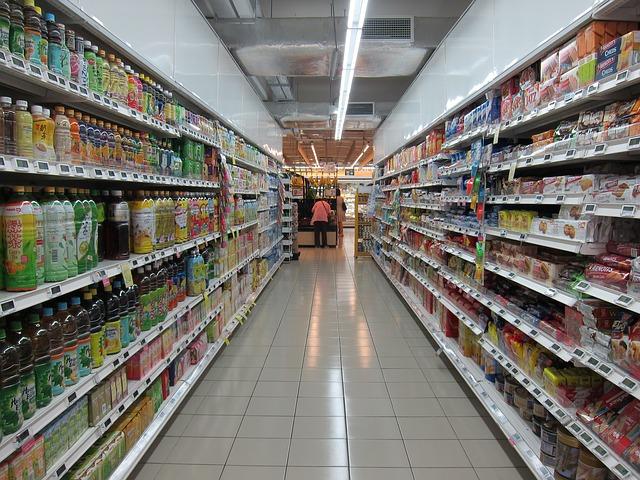 supermarket šťávy