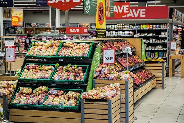 supermarket zelenina