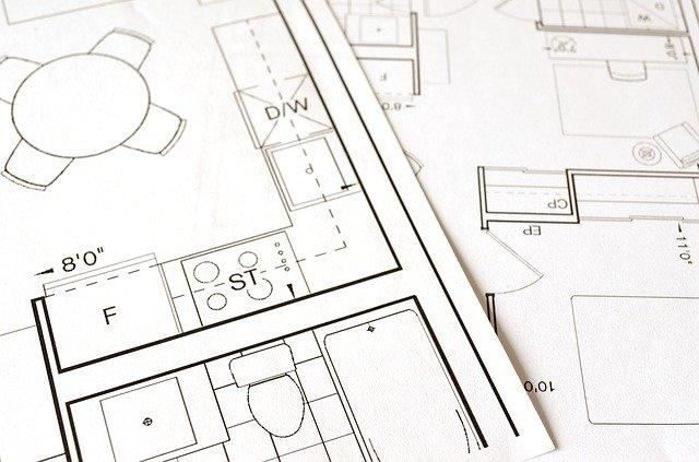 projekt domu, půdorys