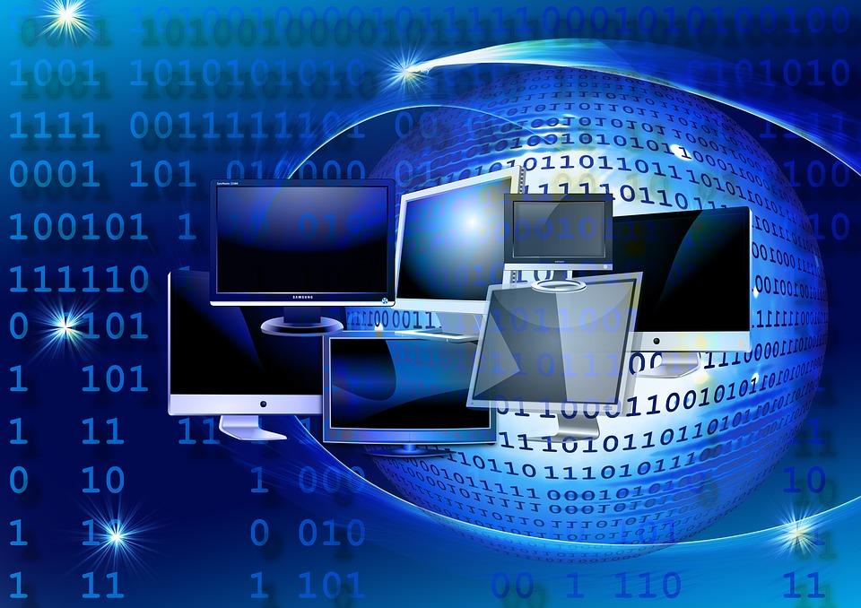 spojení na internetu