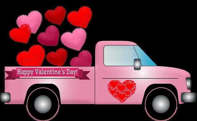 valentine-truck-3946628_640